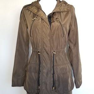 Zara Hooded Utility Jacket size small - 0073